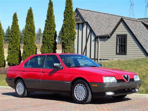 Alfa Romeo 164l by 1992 Alfa Romeo 164l Classic Italian Cars For Sale