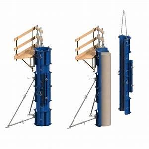 Poteau Bois Rond 3m : coffrages pour poteaux tous les fournisseurs coffrage ~ Voncanada.com Idées de Décoration