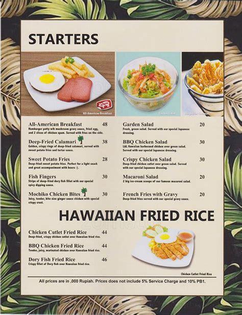 L&L Hawaiian Barbecue Menu - Zomato Indonesia