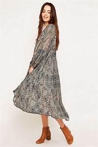 Robe Style Boheme : robes longues boheme ~ Dallasstarsshop.com Idées de Décoration