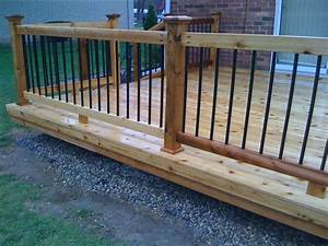 Metal And Wood Deck Railing Ideas : Doherty House