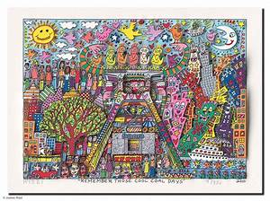 James Rizzi James Rizzi Remember These Cool Coal Days