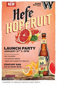 Widmer Brothers Brewing Hefe Hopfruit Launch Party + 2017 ...