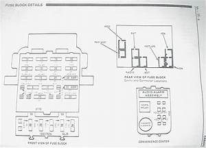 Wiring Diagram For The Firewall Plug On A 1991 Camaro