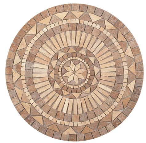 wall tile medallions how wall and floor medallions can transform a space the toa blog about tile more