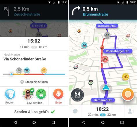 waze android app echtzeit navigation waze 4 0 f 252 r android ver 246 ffentlicht