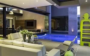 piscine d39interieur le luxe ultime en 10 photos With maison a louer en espagne avec piscine 10 plan de maison de luxe avec piscine chaios