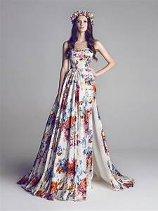 17 floral wedding dresses you can shop now brit co With floral wedding dresses