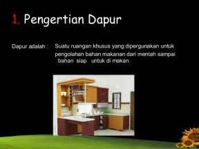 sanitasi dapur