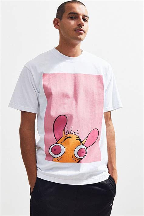 dumbgood ren stimpy tees shirts mens tops
