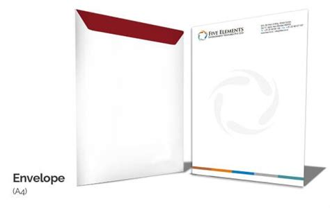 custom  size envelope printing
