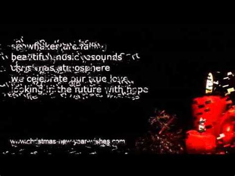 romantic christmas messages xmas love poems youtube