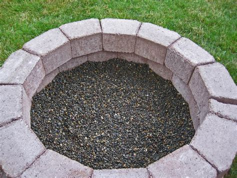 simple brick pit soup for five diy simple brick firepit in about an