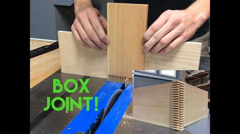 super easy box joint jig youtube