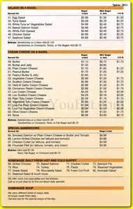 Bora Bora Restaurants Menus