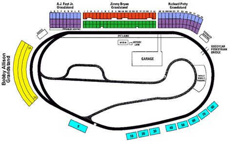 ism raceway seating chart ticket solutions