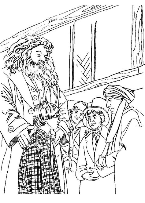 satchel harry potter colouring book