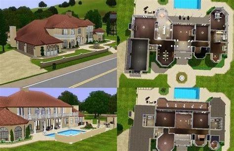 pin  mansion floor plans  pics