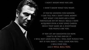 Taken Liam Neeson BW Black actor face men males text dark ...