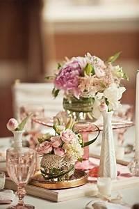 Deco Centre De Table Mariage : centre de table fleurs mariage pas cher ~ Teatrodelosmanantiales.com Idées de Décoration