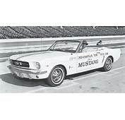 64 Ford Mustang Indy 500 Pace Car