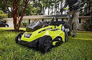 Ryobi P1111 One  16 U0026quot  18v Lithium Electric Lawn Mower