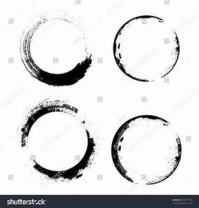 Coffee Stain Ring Vector Shape Circle Stock Vector ...
