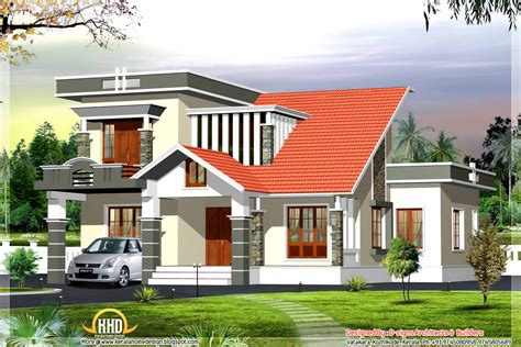 Kerala Style Modern Contemporary House