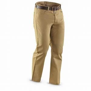 32u0026quot; Inseam Haggaru00ae 5 - pocket Twill Pants - 219406 Jeans u0026 Pants at Sportsmanu0026#39;s Guide