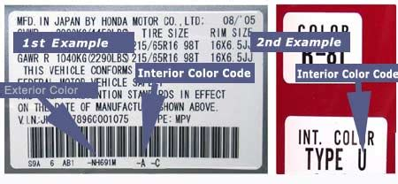 paint how can i find out the exact colour for my car motor vehicle maintenance repair