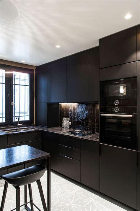 cuisine uip noir cuisine des photos déco pour s 39 inspirer côté maison