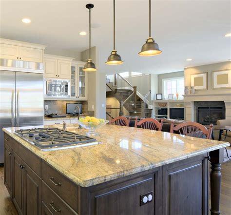 foot kitchen island  sink modern house