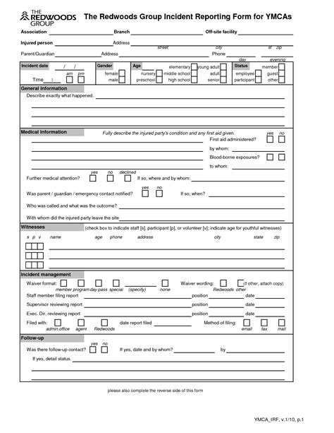 general incident report form template best photos of general incident report template car liability release form template
