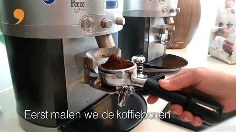 espresso maken hoe maak je een espresso youtube