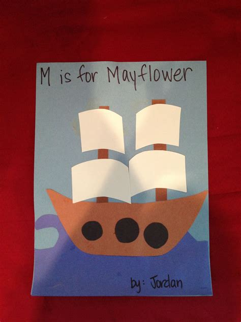 m is for mayflower craft thanksgiving school theme 554   d41f21506a4801e50880ee119e2ab2a5