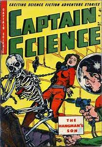 Captain Science 7 A, Dec 1951 Comic Book by Youthful