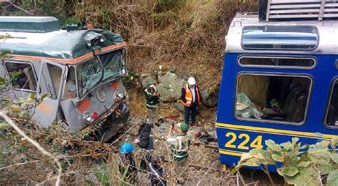 Over 35 Passengers Injured In Machu Picchu Train Crash