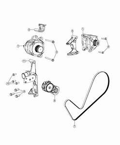 2018 Ram 5500 Belt  Serpentine   Dual Alternators Rated At