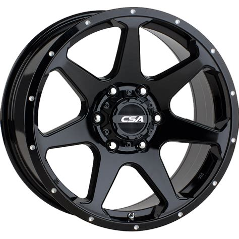 wheels hawk csa hawk large cap gloss black highway tyres