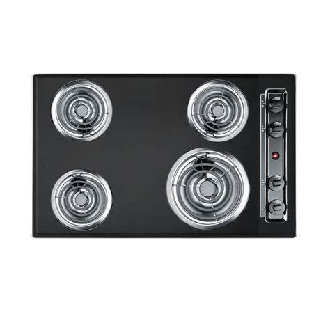 electric cooktop coil elements summit appliance cooktops depot ge appliances open boil radiant including power homedepot catalog