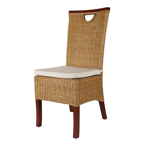 chaise bistrot rotin cheap rattan dining chair rotin design