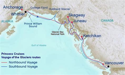 Alaska Cruise Routes | Inside Passage Or Cross Gulf Of Alaska Cruise?