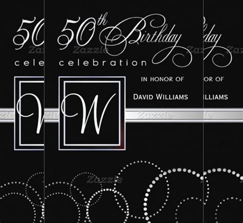 Template For 50th Birthday Invitations Free Printable by 50th Birthday Invitation Template Gangcraft Net