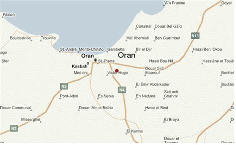 Carte Sat Algerie by Oran Algeria Carte Et Image Satellite