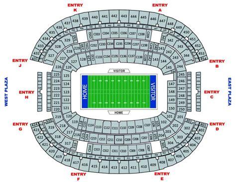att stadium seating chart gem hospitality