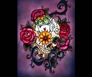 Skull & roses | Graphics/wallpapers | Pinterest