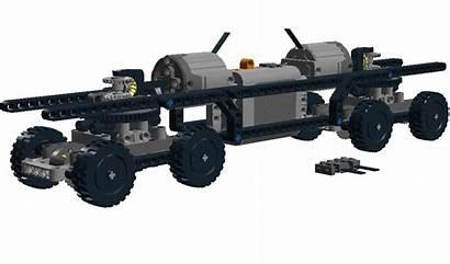 Technic Train Lego Wip Ldd Edited October