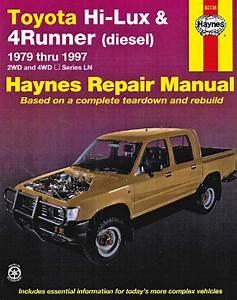 Toyota Hi Lux 4runner Diesel 1979-1997 Haynes Service Workshop Repair Manual