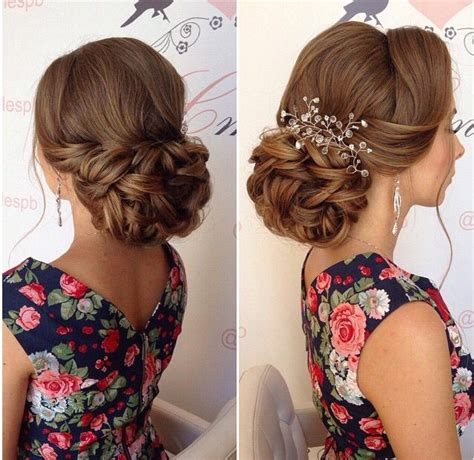 low set bun curly updo soft updo loose updo wedding