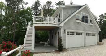 Top Photos Ideas For House With Separate Garage by Detached Garage With Deck Loft